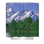 Grand Tetons National Park Wy Shower Curtain