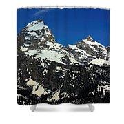 Grand Tetons Wyoming Shower Curtain