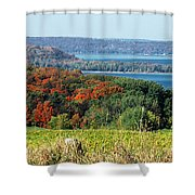 Grand Traverse Winery Lookout Shower Curtain
