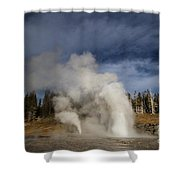 Grand Vent Shower Curtain