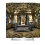 Grand Wide Entrance Shower Curtain