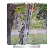 Grandad Shower Curtain