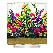 Grandchildren's Bouquet Shower Curtain