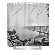 Mile High Bridge #1 Shower Curtain