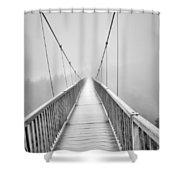 Mile High Bridge #2 Shower Curtain