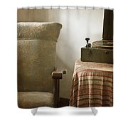Grandma's Chair Shower Curtain by Margie Hurwich