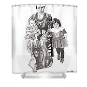 Grandma's Family Shower Curtain