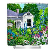 Grandma's Garden Shower Curtain
