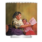 Grandmas Love Shower Curtain by Colin Bootman