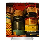 Grandmother's Attic Shower Curtain