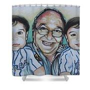 Grandpas Pride And Joy Shower Curtain