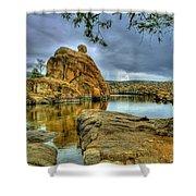 Watson Lake Prescott Arizona Shower Curtain