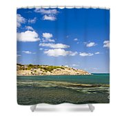 Granite Island South Australia Shower Curtain