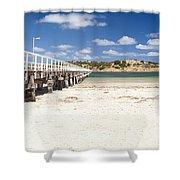 Granite Island Shower Curtain