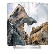 Granite Texture Shower Curtain