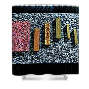 Granites Shower Curtain