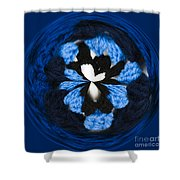 Granny Circle Shower Curtain