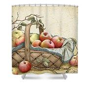 Granny's Basket Shower Curtain