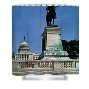 Grant And The Capitol Shower Curtain