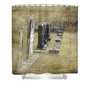 Grant Cemetery Shower Curtain