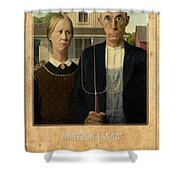 Grant Wood 1 Shower Curtain