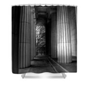 Grant's Tomb Columns Shower Curtain