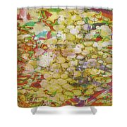 Grape Abundance Shower Curtain by PainterArtist FIN