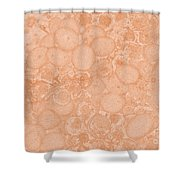 Grape Cell Abstract Shower Curtain