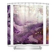 Grape Impressions Original Madart Painting Shower Curtain