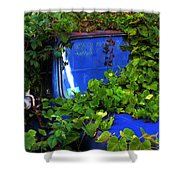 Grapes Eat Truck Shower Curtain