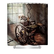 Graphic Artist - The Humble Printing Press Shower Curtain