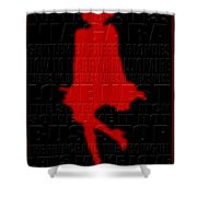 Graphic Marilyn 3 Shower Curtain