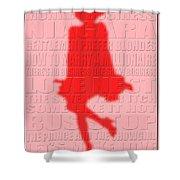 Graphic Marilyn Monroe 2 Shower Curtain