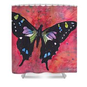 Graphium Weiskei Shower Curtain