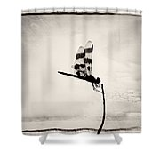 Grasping At Straws Shower Curtain