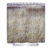 Grass Abstract Shower Curtain