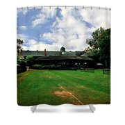 Grass Courts At The Hall Of Fame Shower Curtain