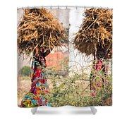 Grass Cuttings Shower Curtain