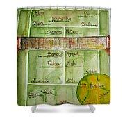 Grass Greats Shower Curtain by Elaine Duras