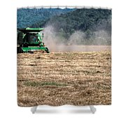 Grass Harvest 16000 Shower Curtain