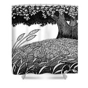 Grass Of The Earth Shower Curtain