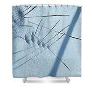 Grassholes Shower Curtain
