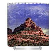 Grasshopper Point Sedona  Shower Curtain