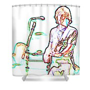Grateful Dead - Bob Weir - Looks Like Rain Shower Curtain