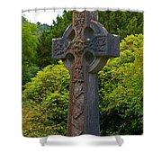 Grave Cross 4 Shower Curtain