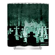 Grave Dancing Shower Curtain
