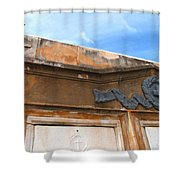 Grave II Shower Curtain