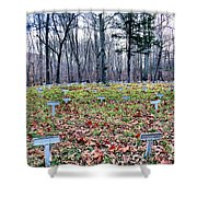 Grave Reminders Shower Curtain