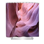 Graved Sandstone Of Antelope Canyon Shower Curtain