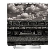 Gravel Train Shower Curtain